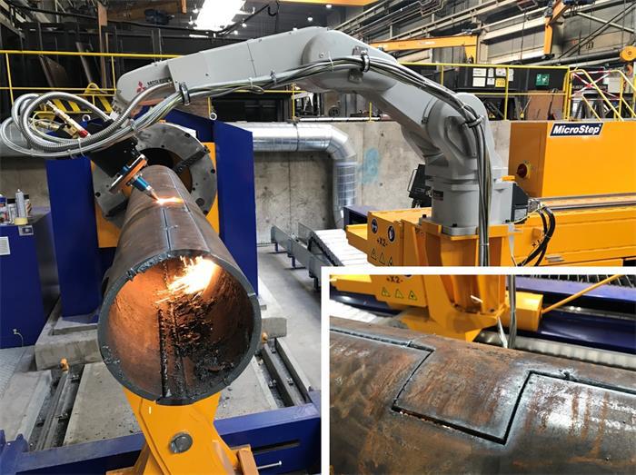 steel pipe cuttings