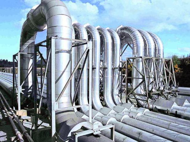 Flexible composite high pressure pipeline