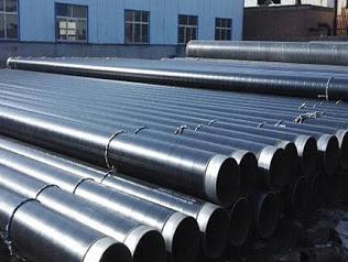 Winding 3PE anti corrosive steel pipe