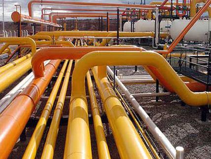 Gas pipeline internal coating