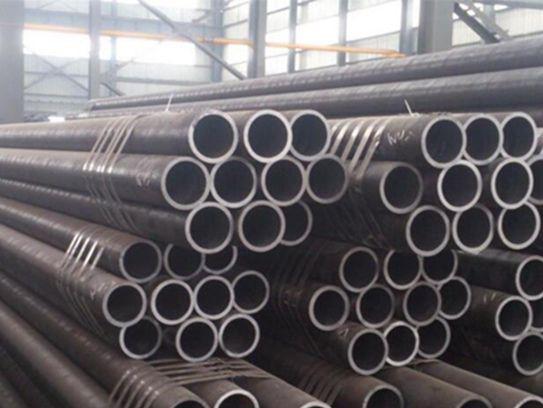 Q345b steel polishing method